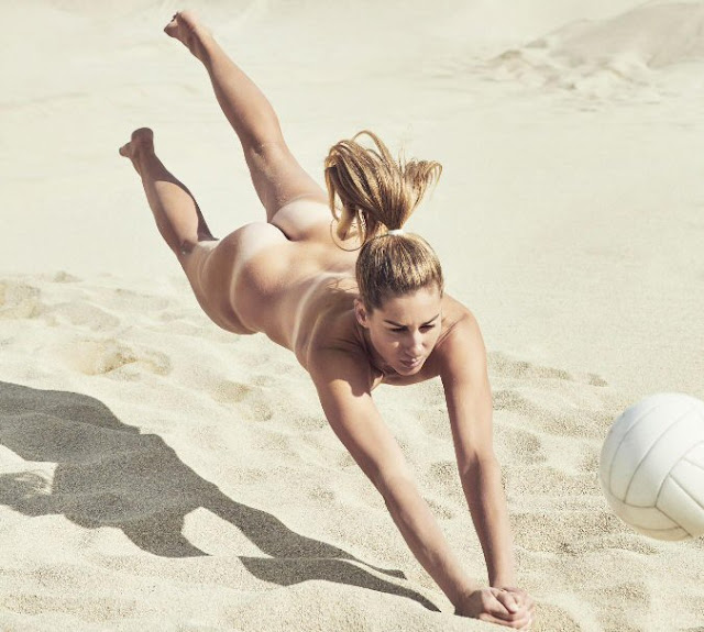 Sexy beach volley: April Ross