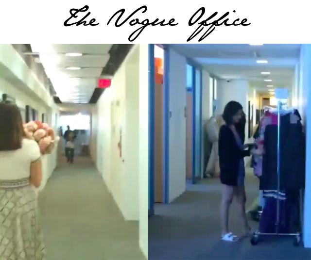 Vogue office tour