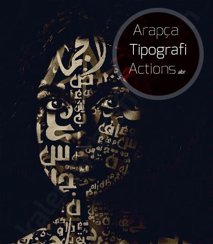 Arapça Tipografi Actions