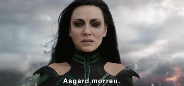 Thor Ragnarok : O Terceiro Filme da Franquia tem Trailer Frenético !