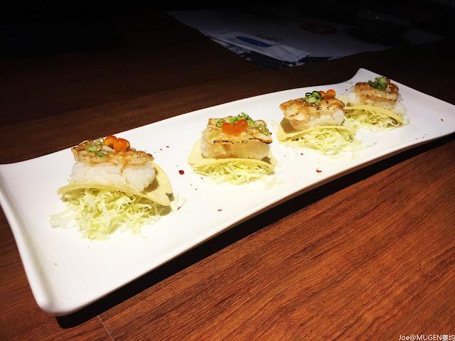 IMG 7413 - 【熱血採訪】一中結合LoungeBar 的 MUGEN 姜均日式手創sushi Bar @空運海鮮@日式手做料理@平價定食