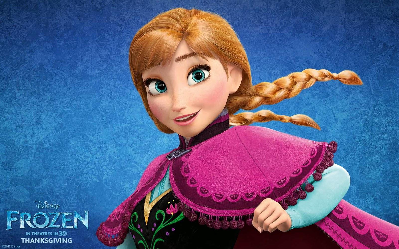 أجمل الخلفيات لفيلم Frozen (ملكة الثلج) - كل يوم صورة ثقافية