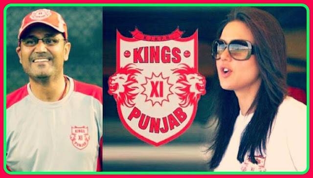 King xi Punjab team