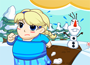 Frozen Elsa Field Loss Weight juego