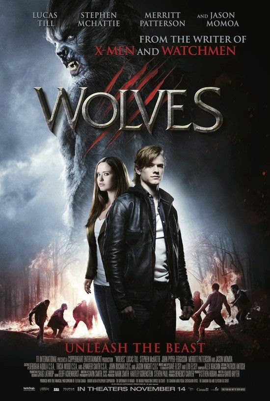 Wolves 2014 HDRip 300mb 480p ESub