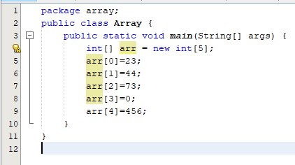 Arrays (Lesson-19)
