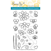 Honey Bee BUSY BEE Stamp Set