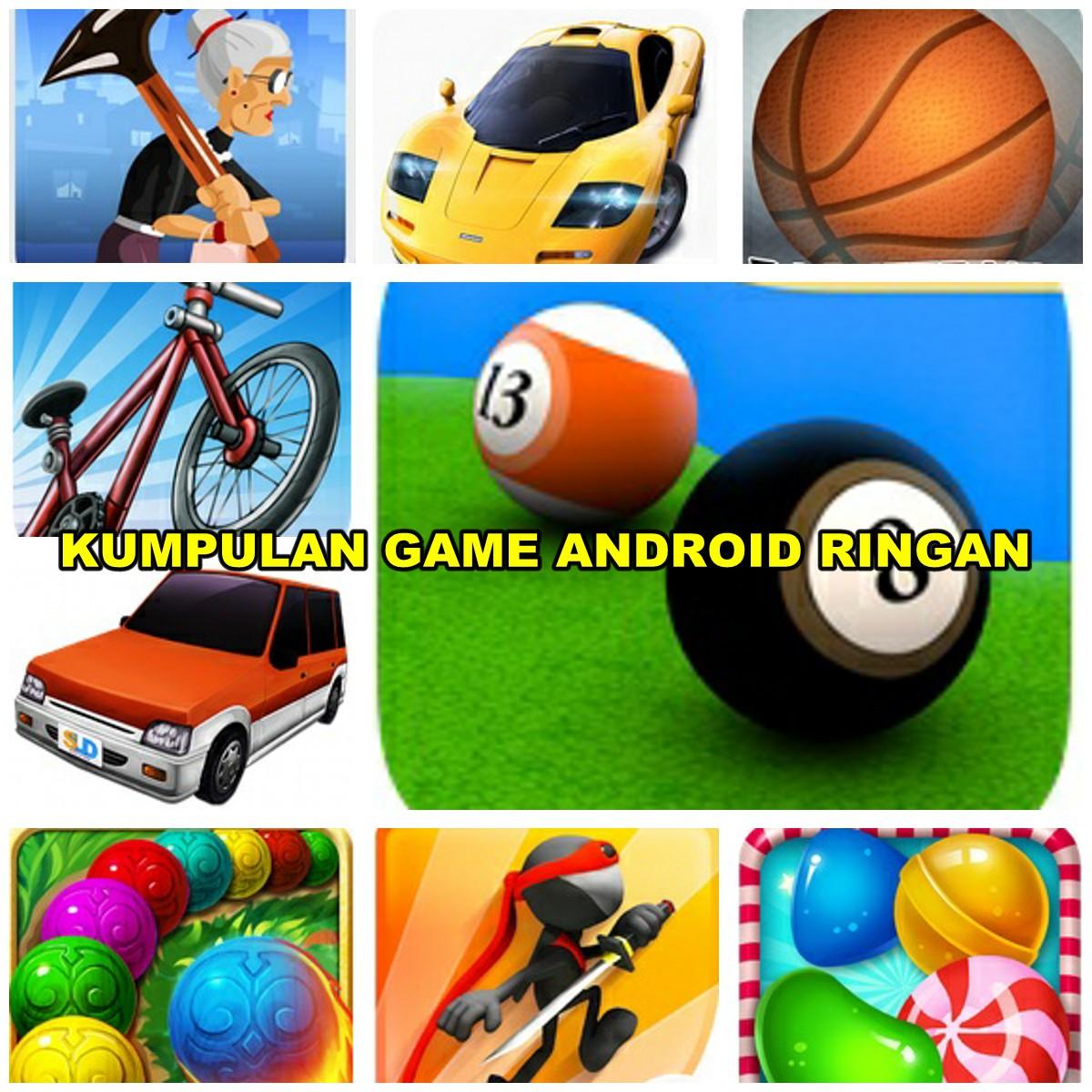 Kumpulan Game Android Ringan Berukuran Kecil Mulai 5 MB