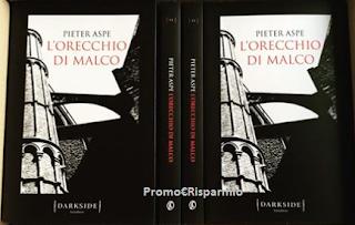 Logo Vinci gratis una copia del libro ''L'orecchio di Malco'' di Pieter Aspe