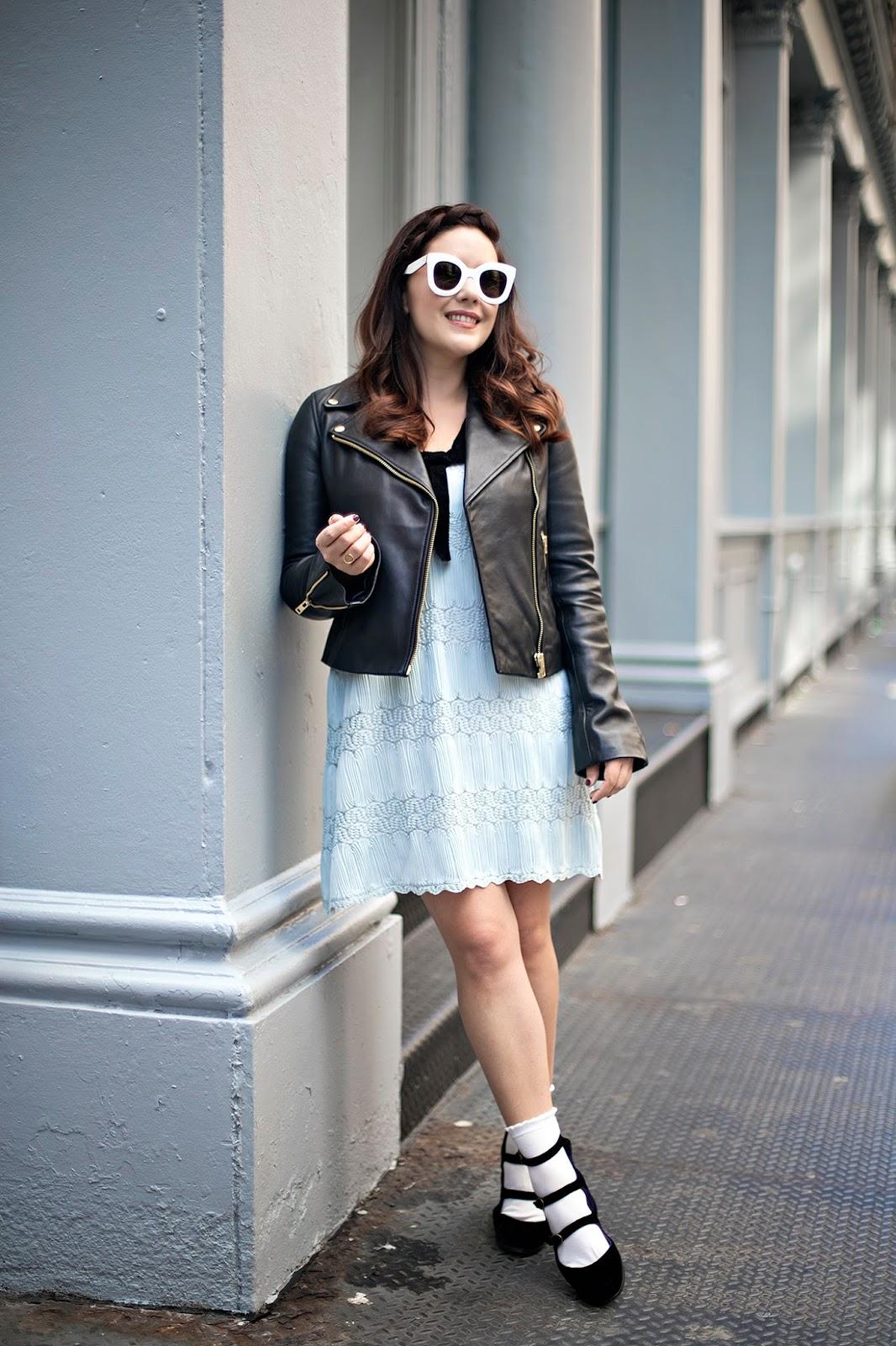 Fall Fashion Trends, Socks and Heels, New York City