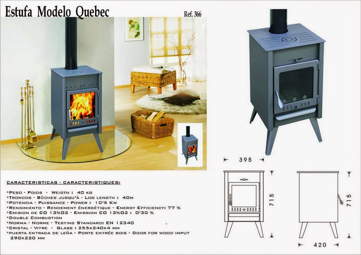 estufas de le a 2015 2016 ferreteria castellar. Black Bedroom Furniture Sets. Home Design Ideas