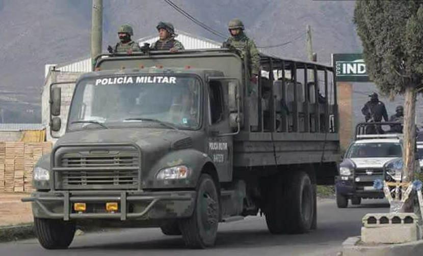 Llegarán a Puebla 200 efectivos de la Marina para apoyar a Policía Militar