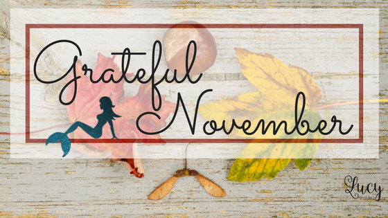 A Cruelty Free #GratefulNovember Blogger Challenge blog title