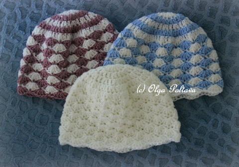8b95acd9e Lacy Crochet: Delicate Shells Newborn Hat, My New Pattern