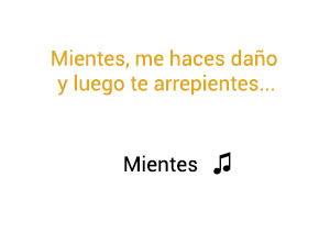Camila Mientes significado de la canción.