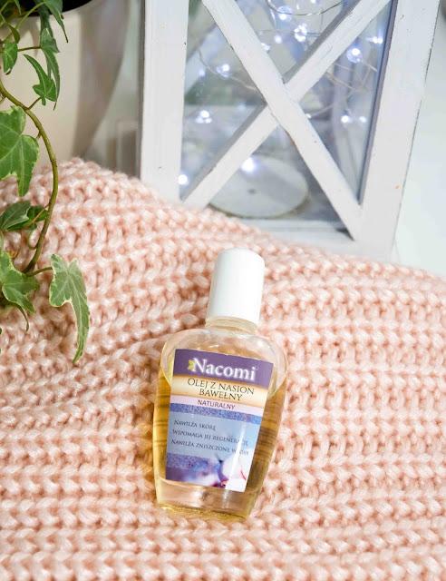naturalny olejek z bawełny