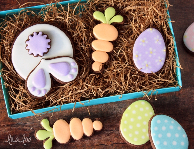 Easter cookie box ideas