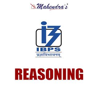IBPS Clerk Quiz : Reasoning Ability | 10 - 11- 17