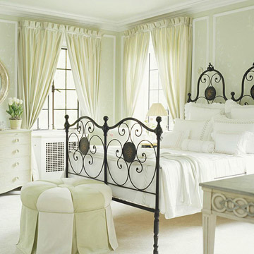 New Bedroom Window Treatments Ideas 2012 : Traditional ... on Bedroom Curtains Ideas  id=41743