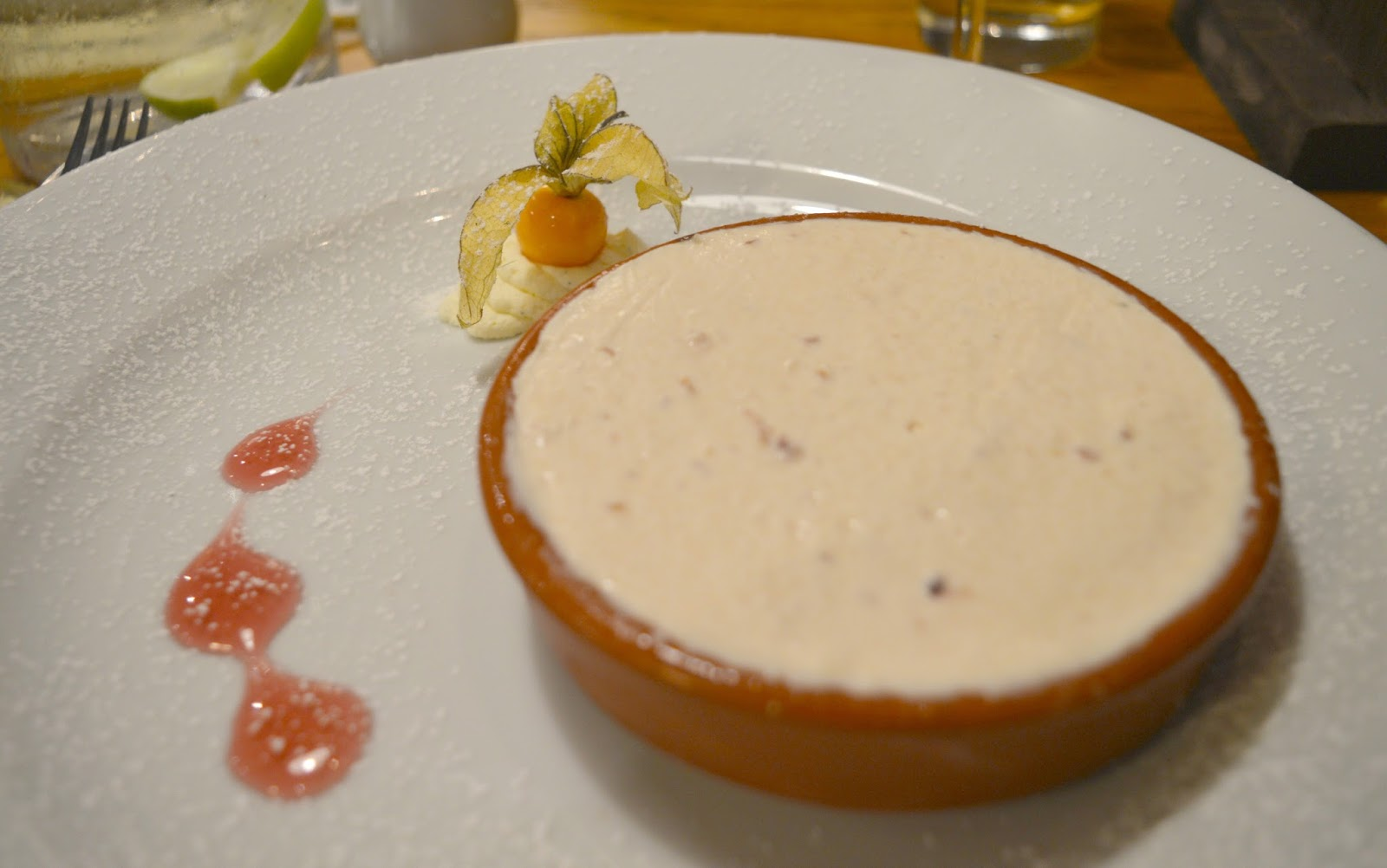 The King's Lodge Inn, Durham Cheesecake