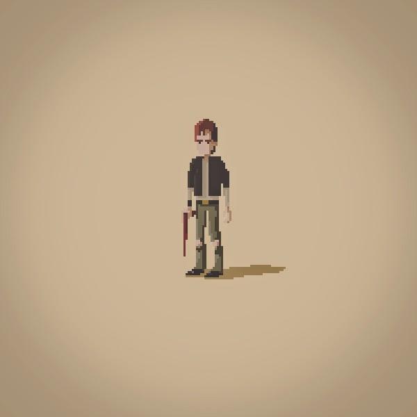 Marens Blog: Zombie Apocalypse Pixelart