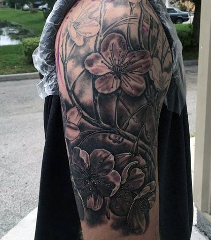 4a8df1a8df0b3 330+ Best Flower Tattoos Designs and Ideas (2019) | Tattoo Ideas 2019