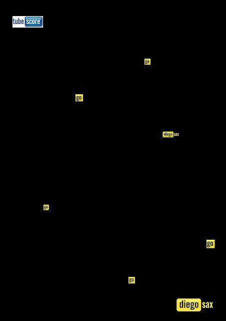 Gloria In Excelsis Deo Partitura del Villancico en Clave de Fa para Trombón, Chelo, Fagot, Tuba Elicón, Bombardino y otros instrumentos en Clave de Fa en 4º línea. Christmas Carol Gloria In Excelsis Deo Sheet Music in in key F Music Scores Cello, Bassoon, Trombone, Euphonium...