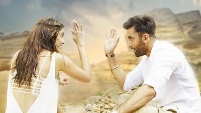 दीपिका पादुकोण और रणबीर कपूर फिल्म 'तमाशा' के एक दृश्य में।