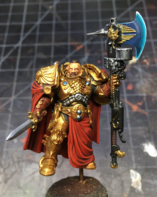Adeptus Custodes Shield-Captain WIP front
