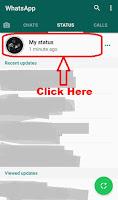 how to delete whatsapp status new