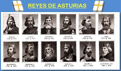Resultado de imagen de REYES GODOS Y ASTURIANOS