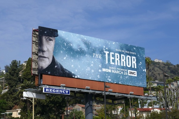 Terror series premiere billboard