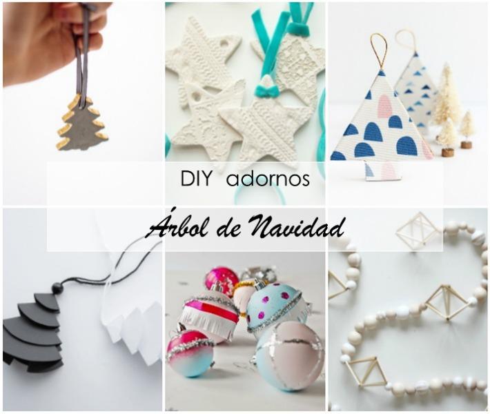12 Adornos handmade para el Árbol de Navidad