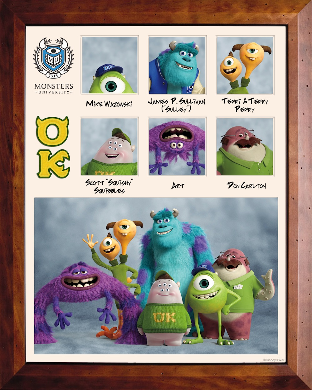 Monsters University Fraternity And Sorority Character Descriptions And Vocal Talent List Pixar Post