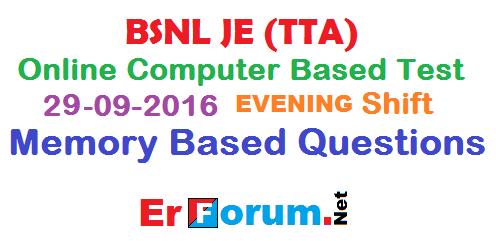 bsnl-je-29-09-2016-evening