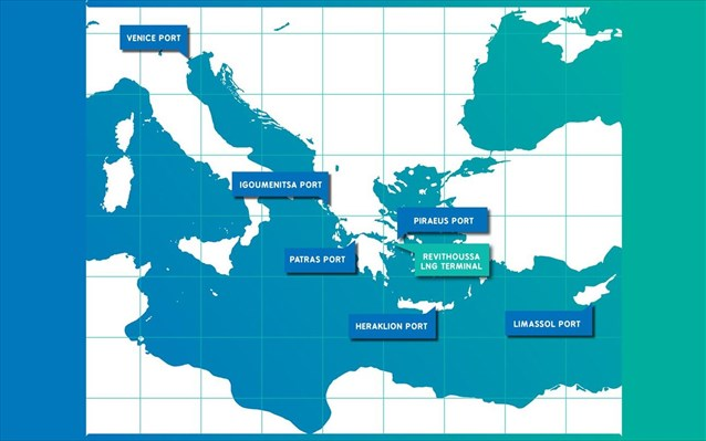 Poseidon Med II: Υγροποιημένο Φυσικό Αέριο στο λιμάνι της Ηγουμενίτσας
