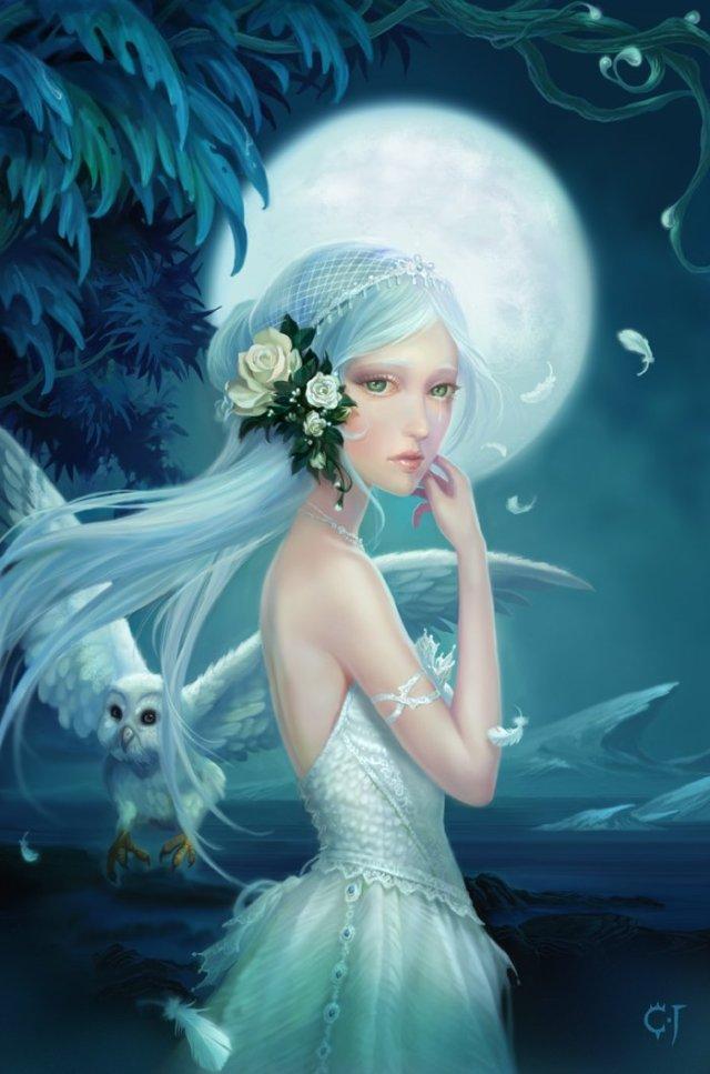 Cute Wallpaper Images For Dp Fantasy Art Wallpapers Desktop Wallpapers