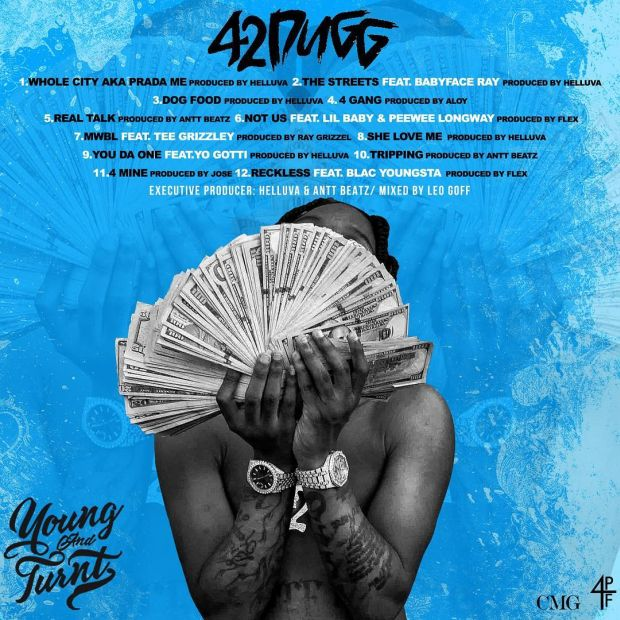 42 Dugg - Young And Turnt (Clean Mixtape) [MP3 - 320KBPS]