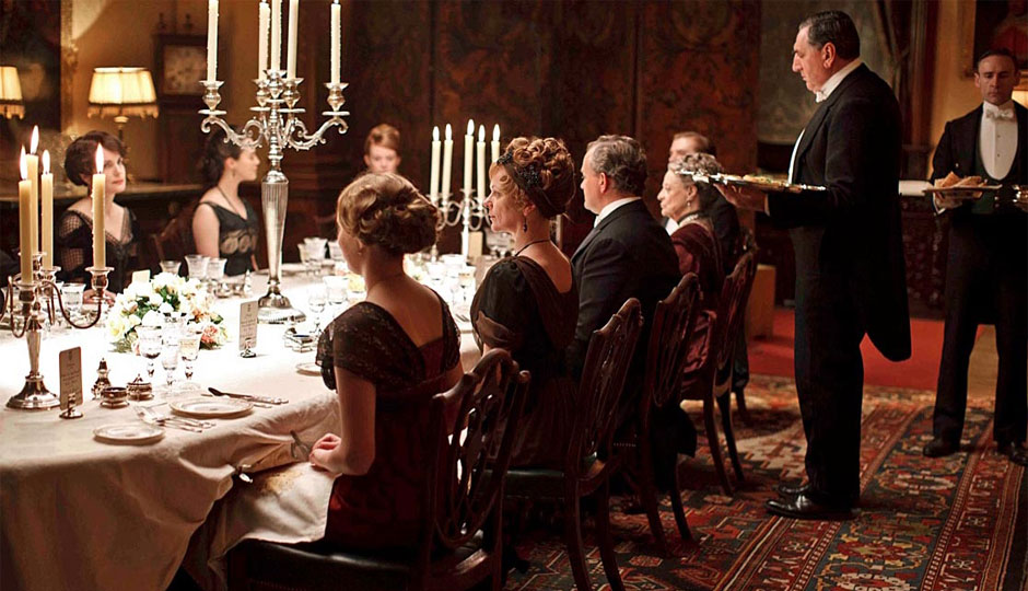 Victorian Dinner Party Part - 16: Many Of Us Were Exposed To Dinner Parties By Watching Downton Abbey.