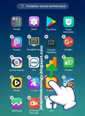 Melayangkan aplikasi