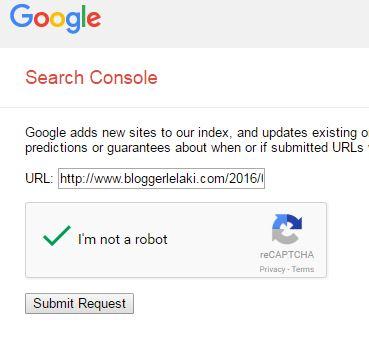 Cara Buat Blog Di Index Lebih Cepat Oleh Google