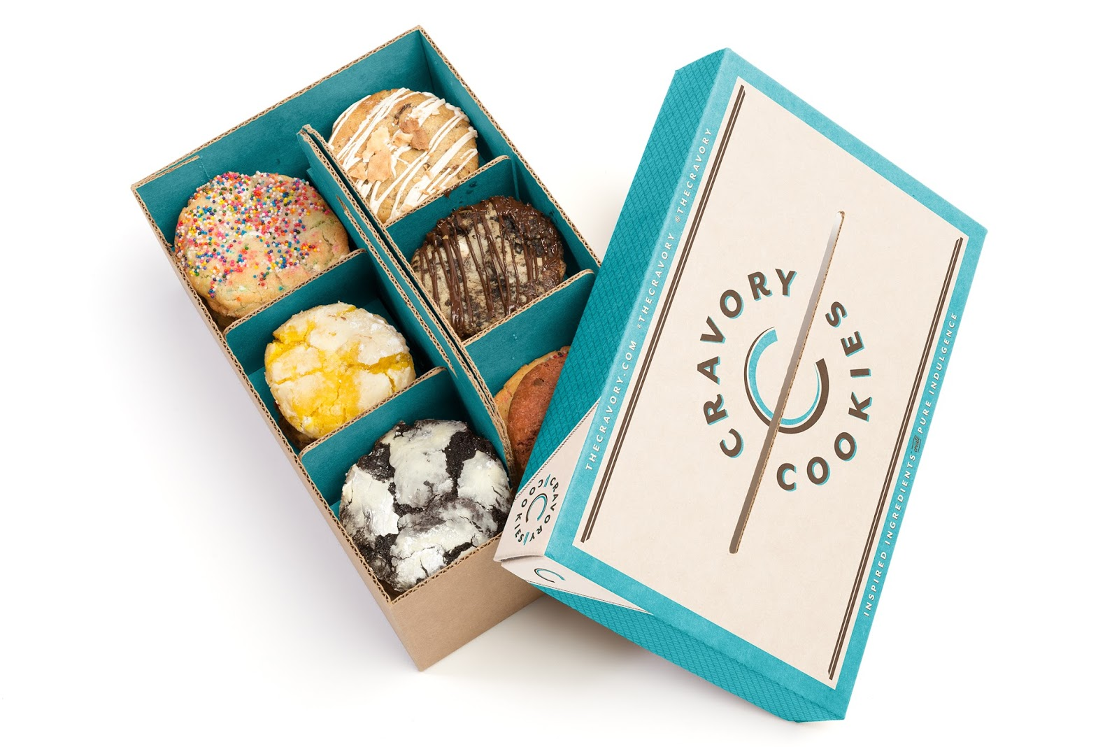 Cravory Cookies Concept On Packaging Of The World