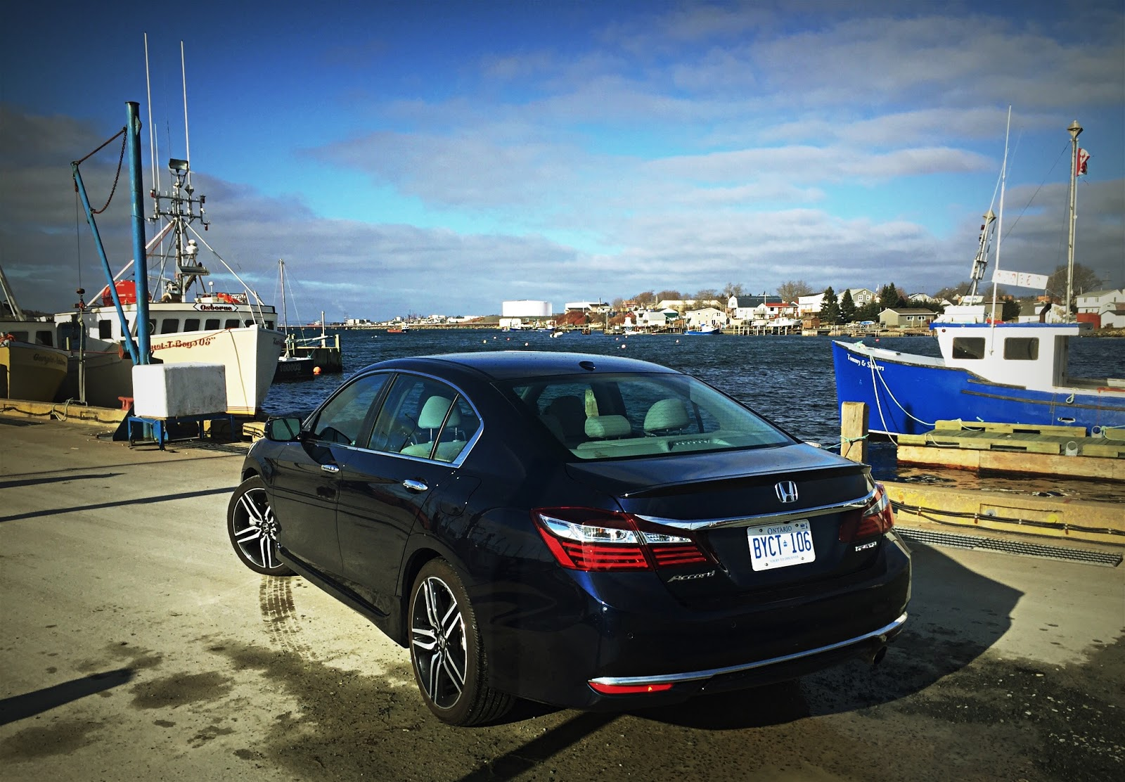2016 Honda Accord Touring Rear