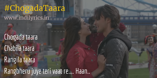 Chogada Tara Chabila Taara | Loveratri | Darshan Raval & Asees Kaur | complete Audio Song Lyrics with English Translation and Real Meaning