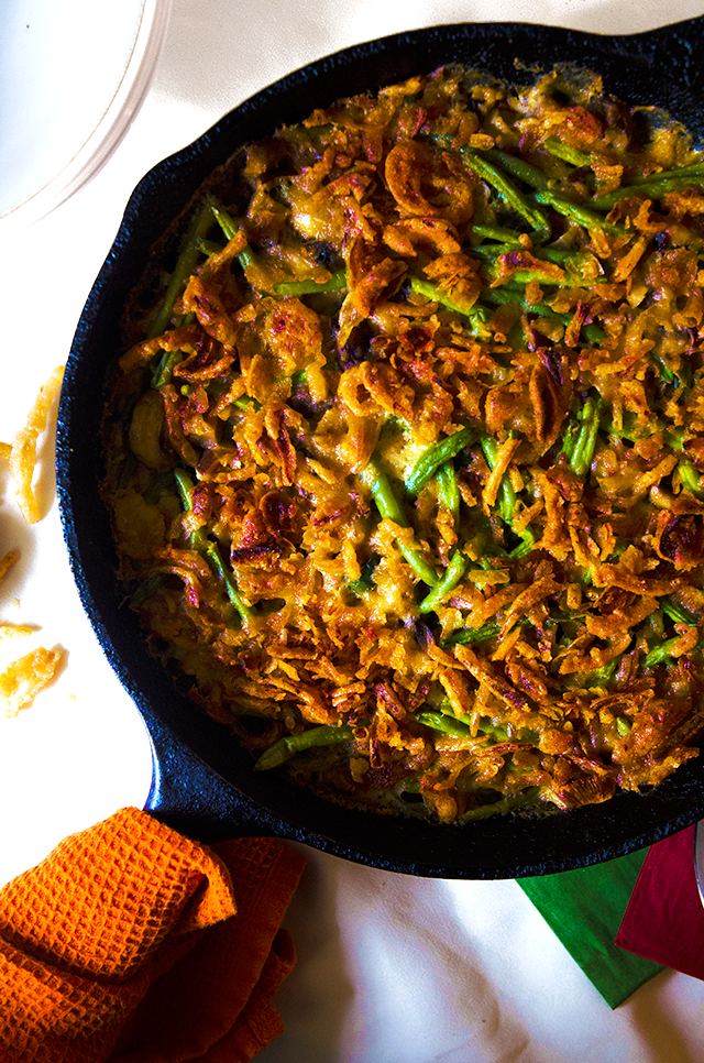 House Vegan: Poblano and Vegan Bacon Green Bean Skillet ...