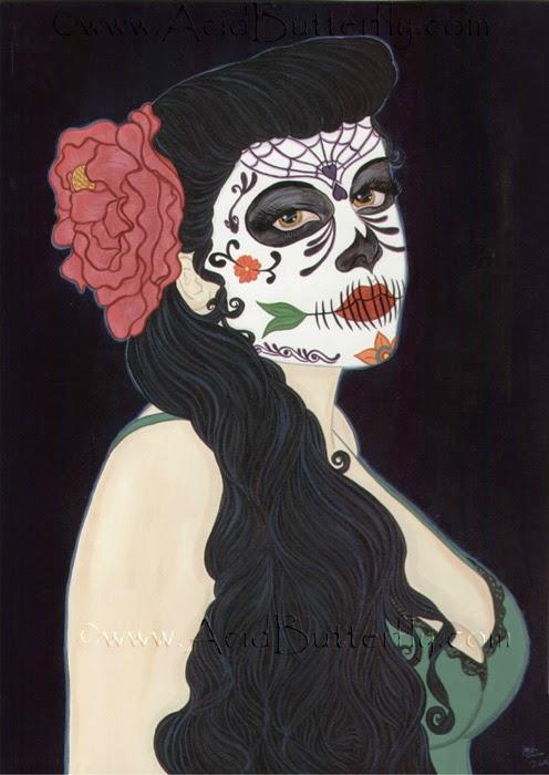 Dia De Los Muertos by Enchanted Visions' Artist, Heather Kilgore