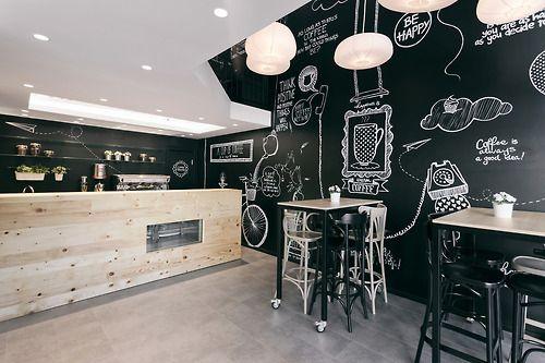 Koleksi Desain Cafe Minimalis Tampak Modern