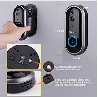 video door bell camera wifi