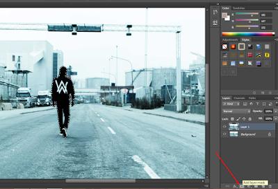 Cara Menggabungkan Gambar Seperti Asli Dengan Photoshop 31