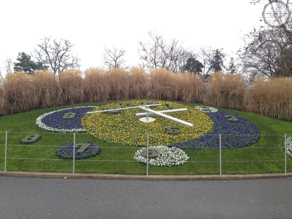Genebra Suíça, Relógio das Flores